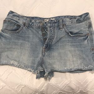 Size 28 free people cut off shorts